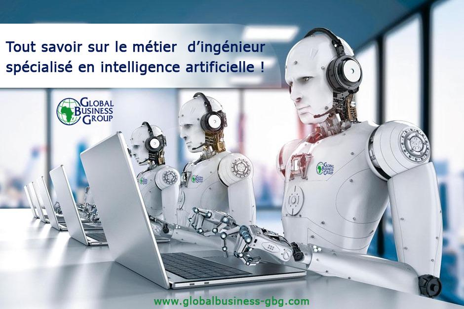 Le métier d'ingénieur spécialisé en intelligence artificielle